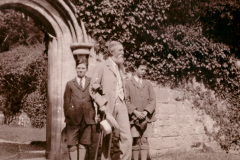 1919_X_X_Early Family Life & Biography_photo of Seddon(l) Father Harry Chadwick (middle) and Alan Chadwick (r)_source, Chadwick Family