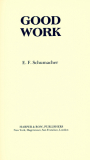 Good Work_by E. F. Schumacher_Suggested Further Reading