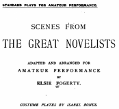 Scenes From Great Performances by Elsie Fogarty (101pp)_Reference Book Library