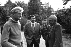 UCSC-00-033_1971_X_X_Alan-Chadwick-unknown-men-at-Garden-Party_photo-courtesy-Paul-Lee_photographer-unknown