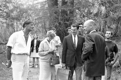 UCSC-05-005_1967_3_X_UC-Stant-Cruz-Photo-Collection_-Alan-Chadwick-Chancellor-Dean-McHenry-Others-on-walk-looking-for-the-Future-Garden-Site_Photo-by-Steve-Rees