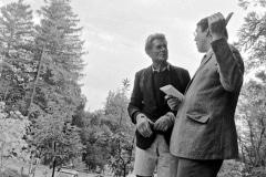 Alan Chadwick & Tom O'Leary, 1971
